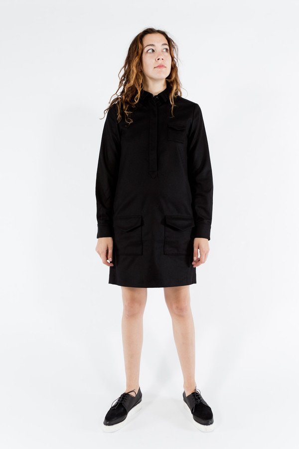 You Must Create Wool Shirt Dress