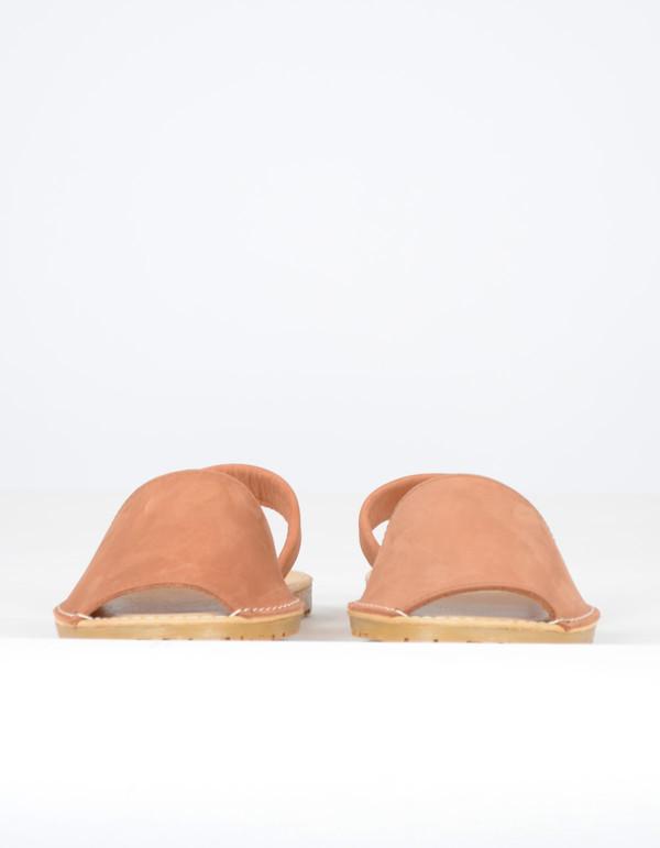 Alejandrina's Menorca Nubuck Shoe Brown