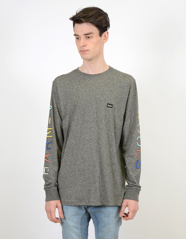 Men's Barney Cools B.Long Sleeve Black Static