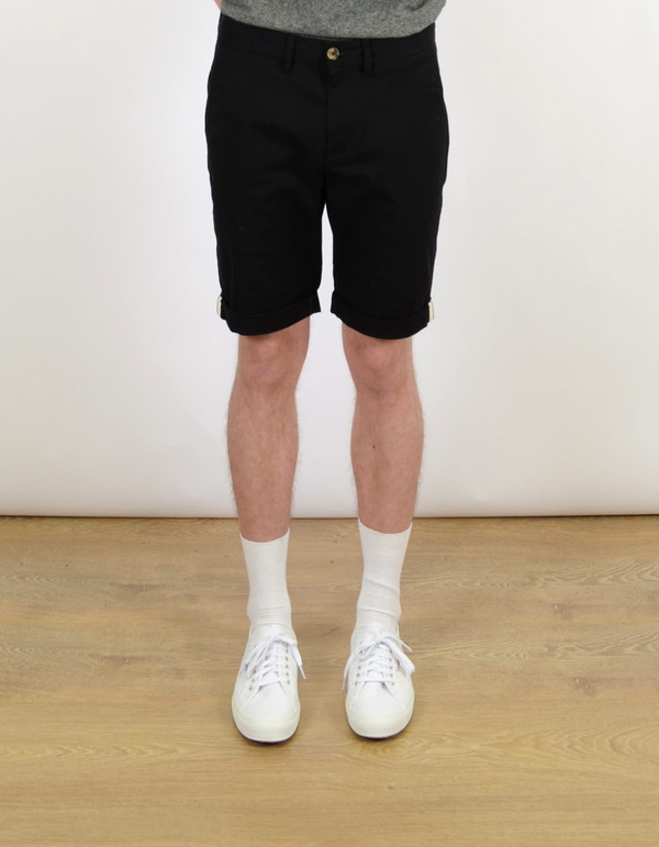 Men's Ben Sherman Slim Stretch Short Jet Black