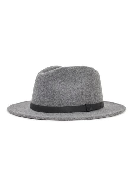 Brixton Messer Fedora Heather Grey