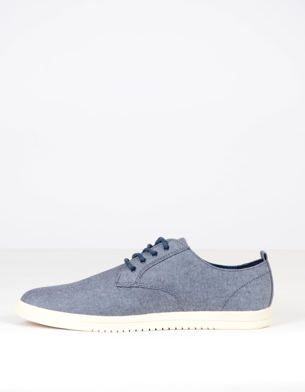 Clae Men's Ellington Textile Navy Chambray