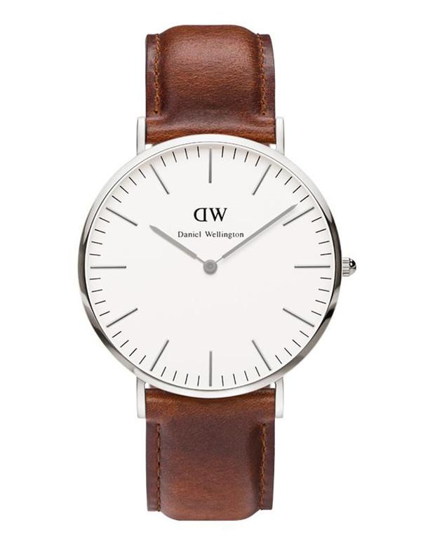 Daniel Wellington St. Andrews Watch Silver 40mm