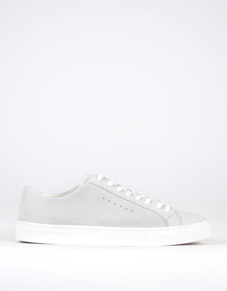 Filippa K Men's Morgan Low-Top Sneaker Light Grey