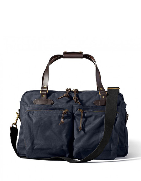 Filson 48 Hour Tin Duffle Navy