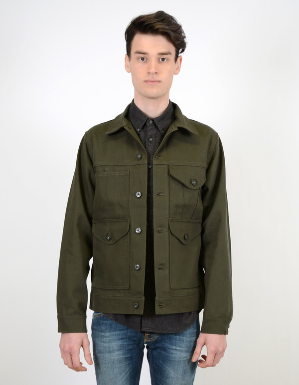 Men's Filson Short Cruiser Coat Magnum Black