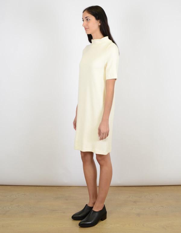 Ganni Thompson Dress Vanilla Ice