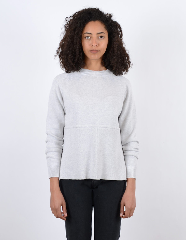 Just Female Daub Knit Cloud Melange