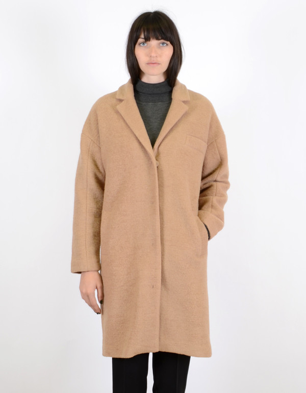 Just Female Jackson Coat Nude Beige