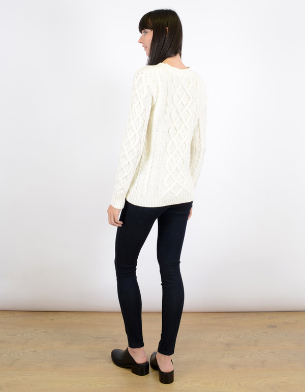 Just Female Pan Knit Blouse
