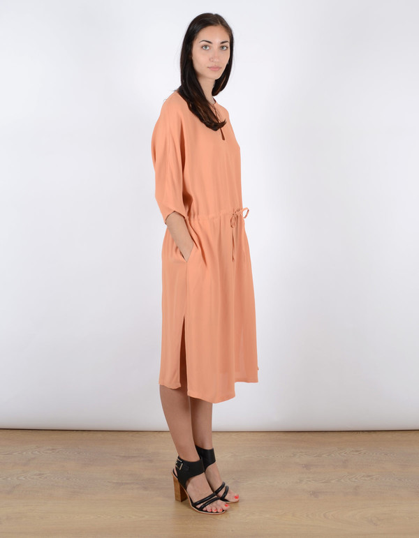 Just Female Ruchi Dress Toasted Nut