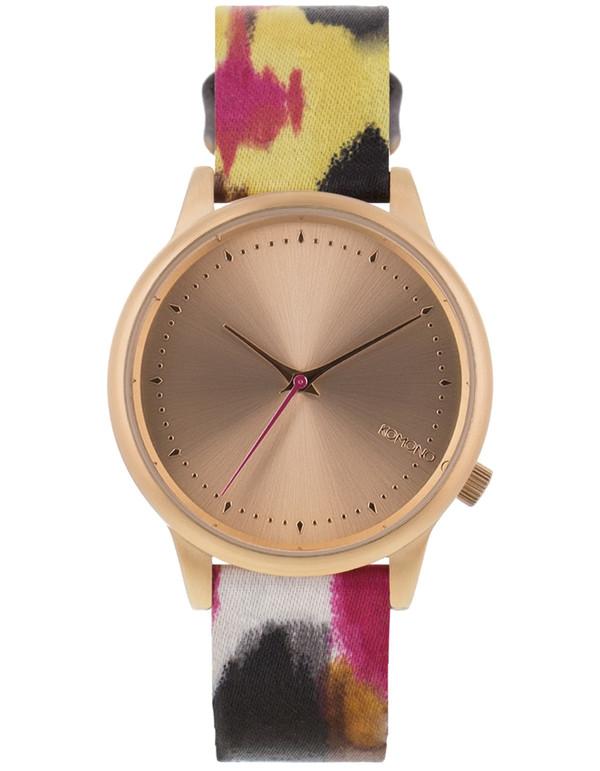 Komono Estelle Aquarelle Watch Pink