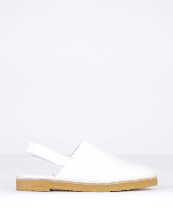 Miista Elie Shoe White