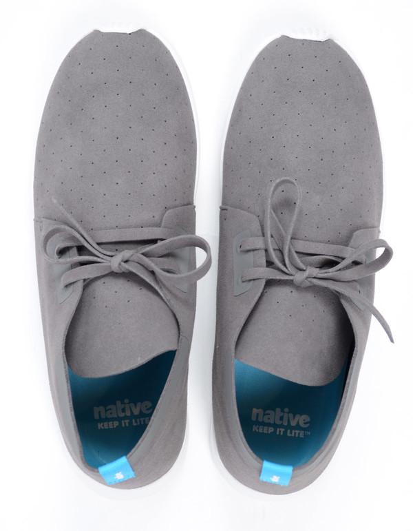 Men's Native Shoes Native Apollo Chukka Dublin Grey