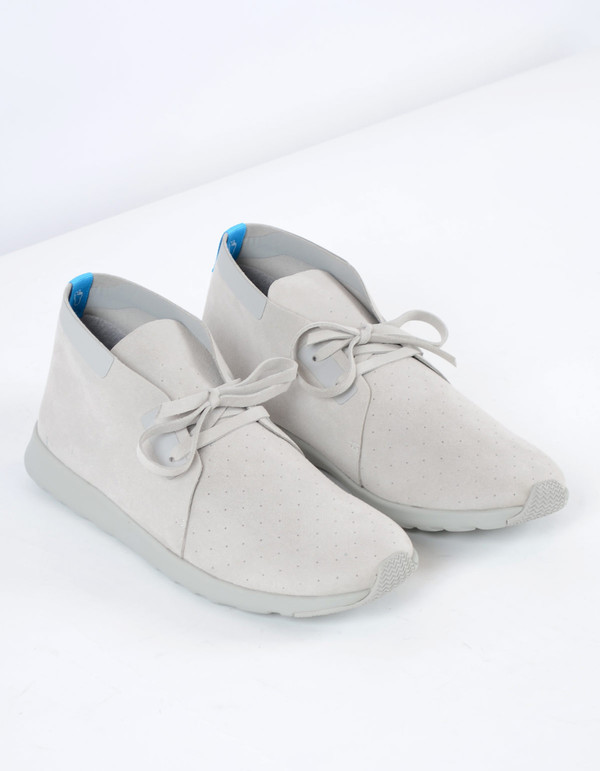Men's Native Shoes Native Apollo Chukka Pigeon Grey Solid