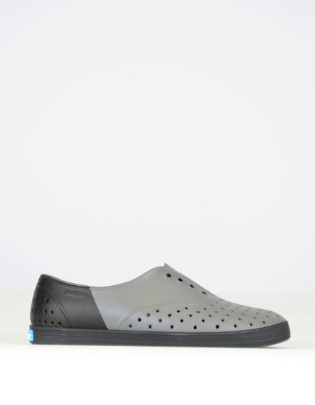 Native Shoes Native Jericho Block Dublin Grey with Jiffy Black