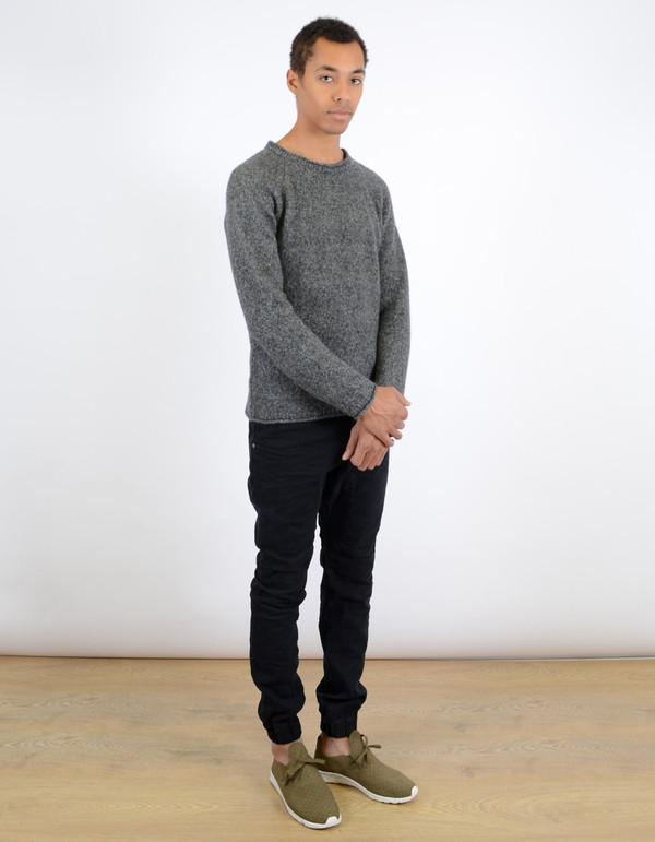 Men's Nudie Vladimir Alpaca Sweater Grey