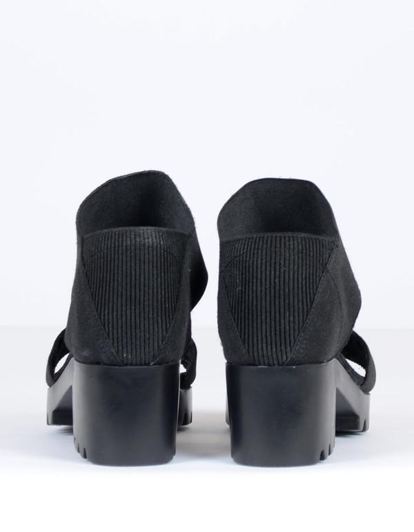 San Miguel Dual Strap Sandal Black