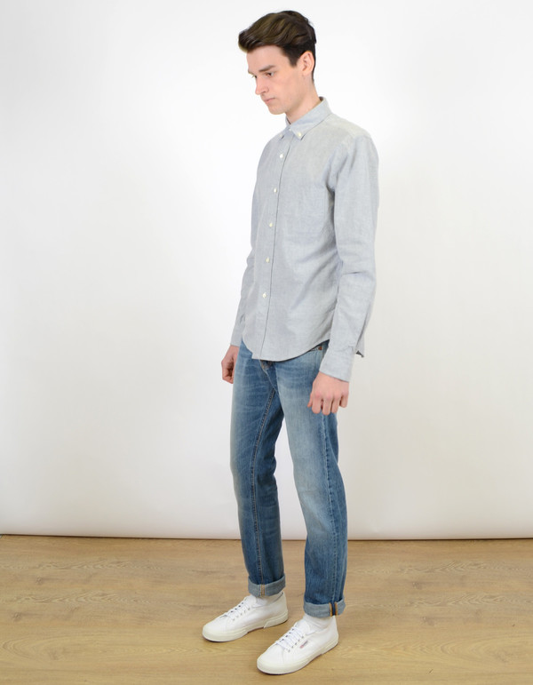 Men's Shuttle notes Shuttlenotes CS Officer Shirt Grey