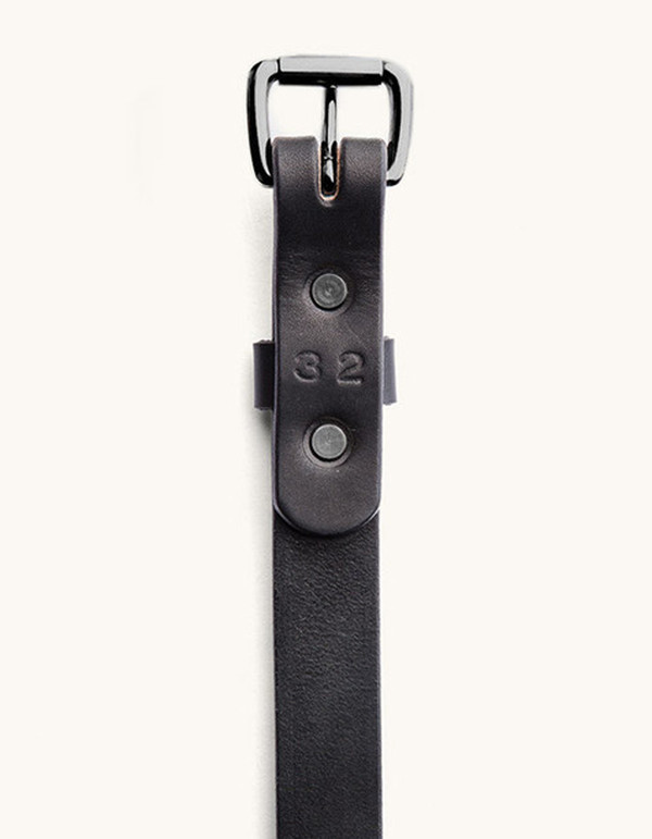 Men's Tanner Goods Skinny Standard Belt Black Black