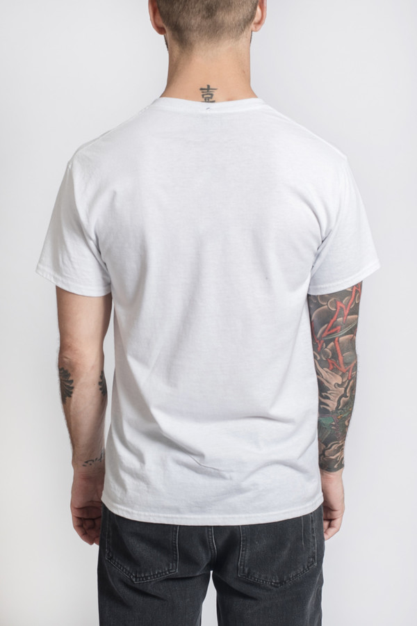 Men's Bleached Goods Rafits White