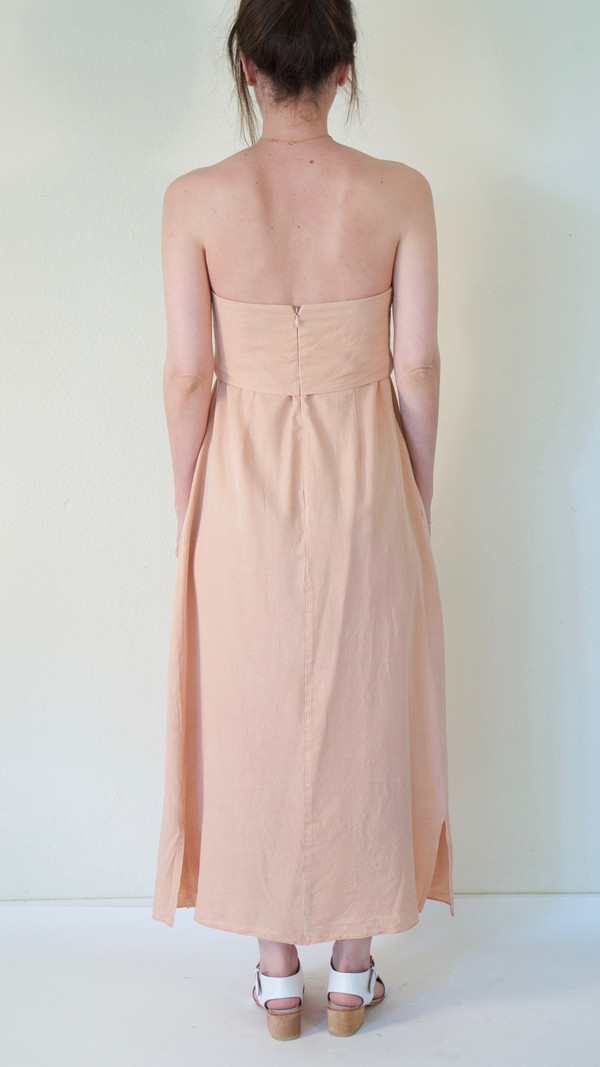 Caron Callahan Ursula Dress in Melon