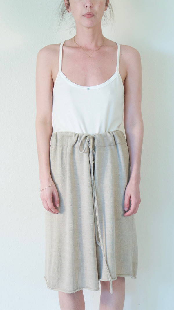 Lauren Manoogian Miter Shorts in Avena