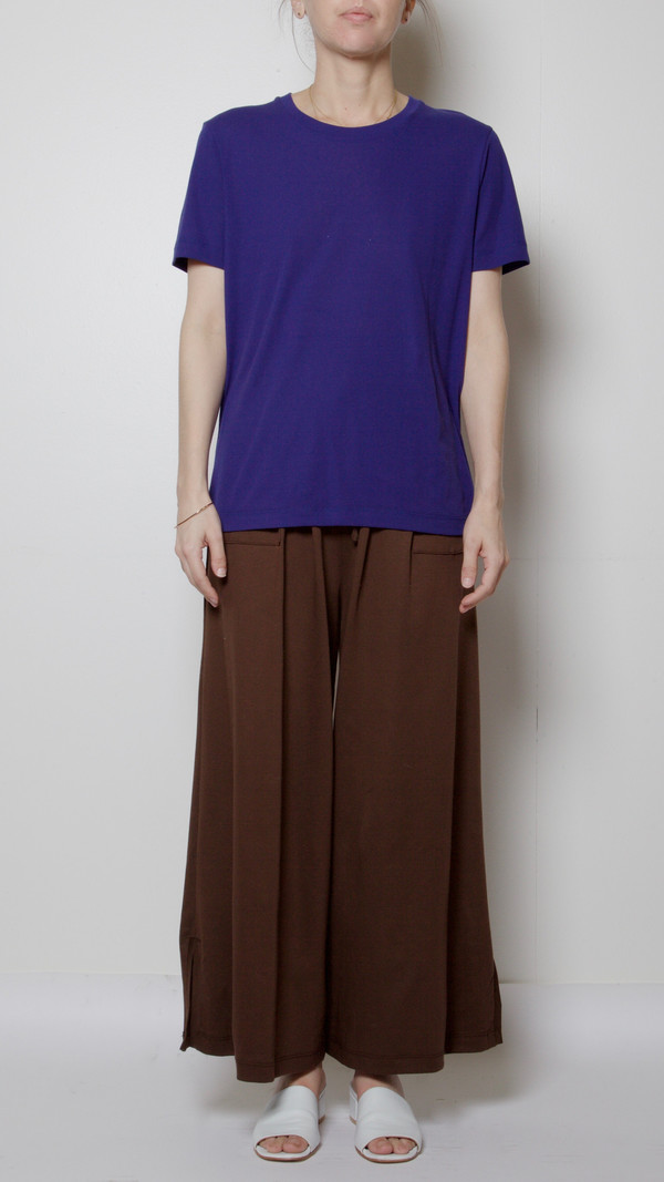 Maryam Nassir Zadeh Clara T-Shirt in Royal Blue