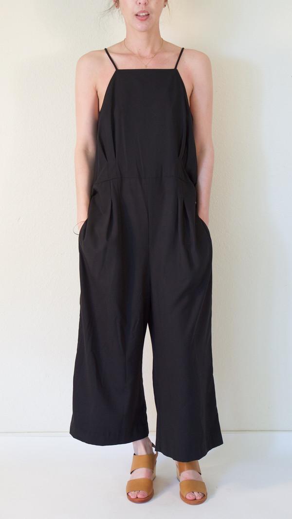 Wolcott : Takemoto Shibata Jumpsuit in Black