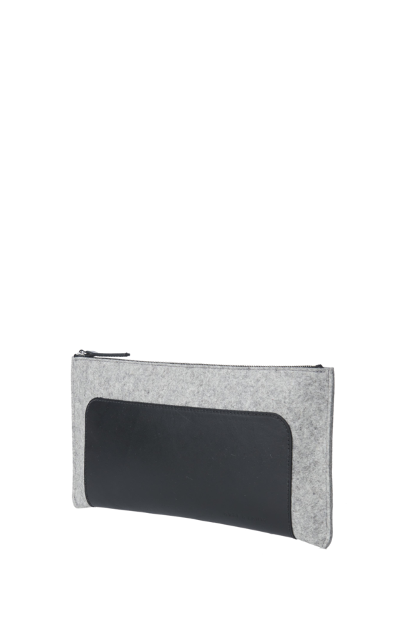 Andie clutch Granite/black