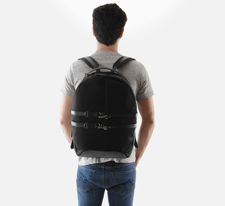 Black MS Sprint Backpack by Mismo