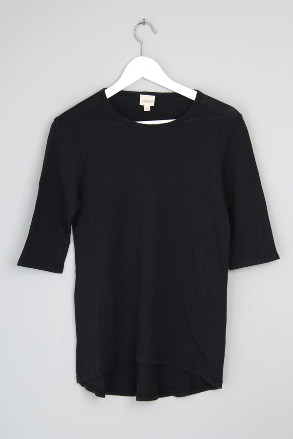 Crippen Faded Black Jett Tee