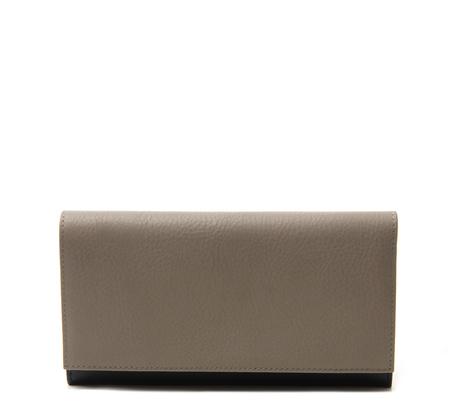 Grey Cream 10 Wallet by Tsatsas