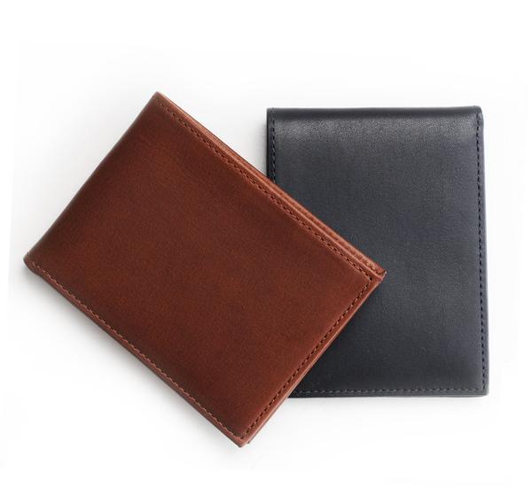 Hayden Leather Brown Denver Bifold Wallet
