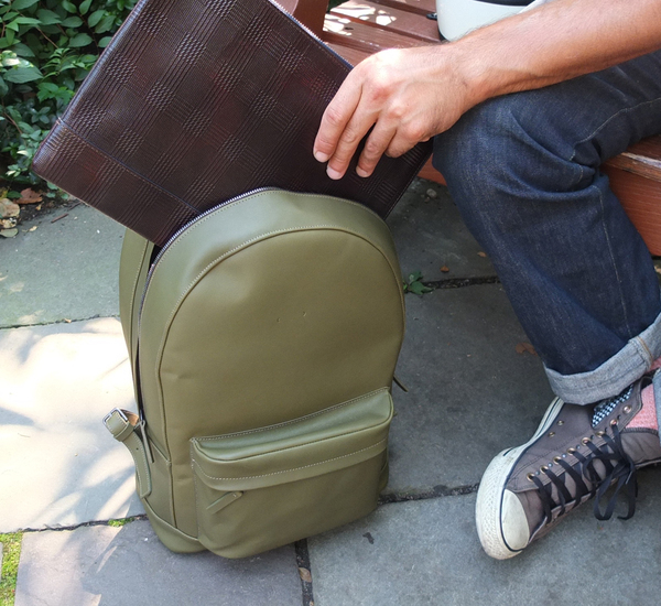 PB 0110 CA6 Dark Olive Backpack
