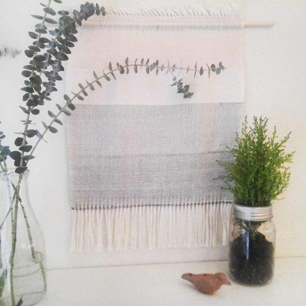 Ana Isabel Textiles Colour Block Silk Weaving