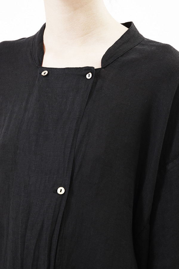 Black Crane Jump Suit