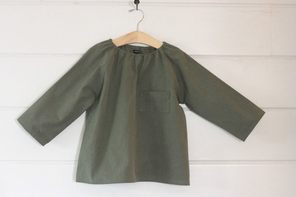 pietsie Marais Shirt in Vintage Army
