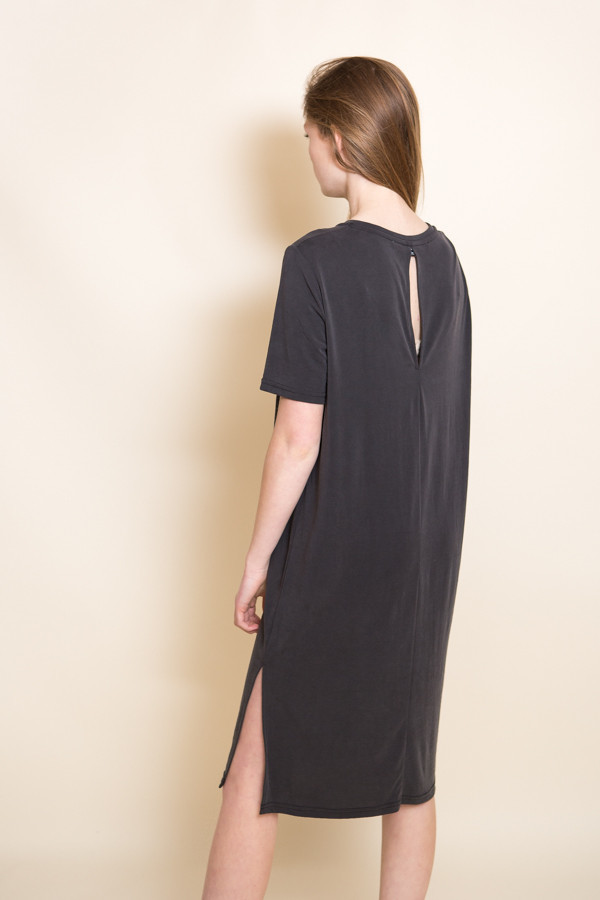 Just Female Pen Dress / Anthracite