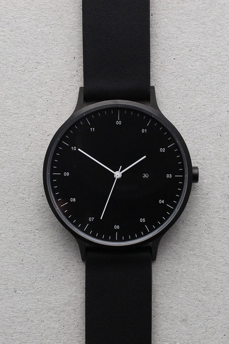 Men's INSTRMNT Series 01-D BB/B Watch - Black/Black