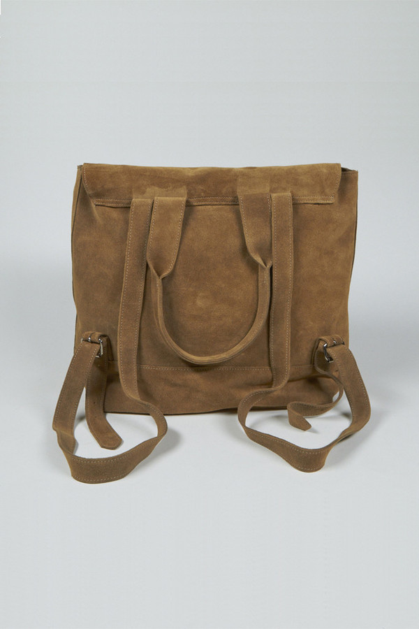 Clyde Suede Room Backpack
