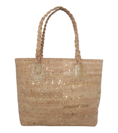 MAPA Collective The Braided Cork Tote
