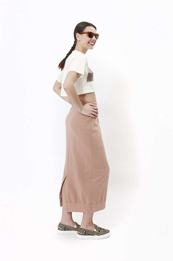 Mr. Larkin Alice Skirt (Suntan)