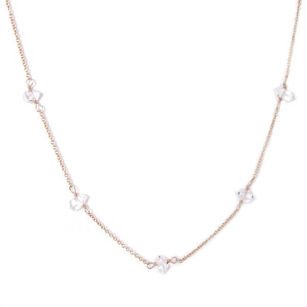 Emmy Trinh Jewelry Constellation Herkimer Diamond Necklace