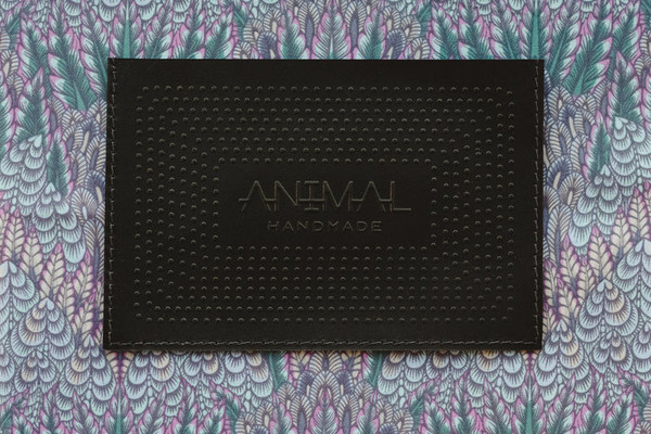 Night Safari Clutch- Black