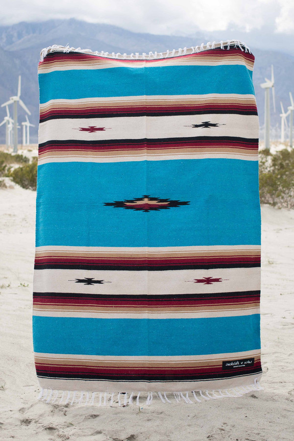 Sackcloth and Ashes Southwest Mexican Blanket