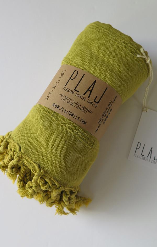 Texada Stonewashed Towel- Pistachio