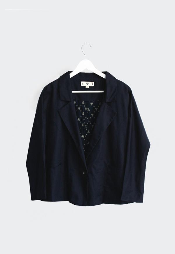 Vestige Story Phyllo Linen Jacket