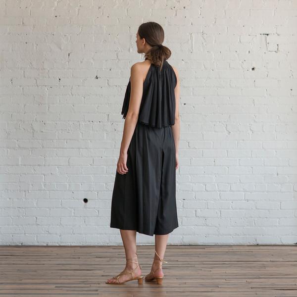 Apiece Apart Baja Tie Waist Culotte