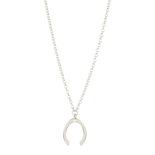 Tiffany Kunz Mini Silver Contour Necklace
